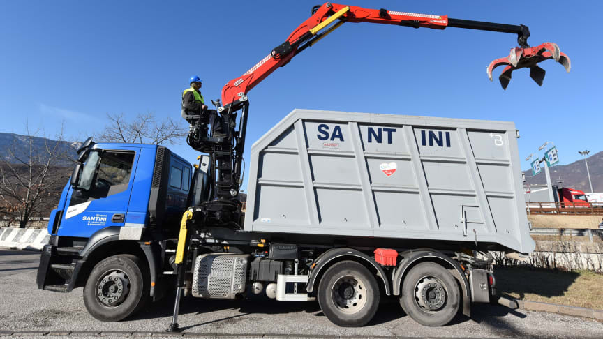 Cranab TZ12.1 kran för recycling