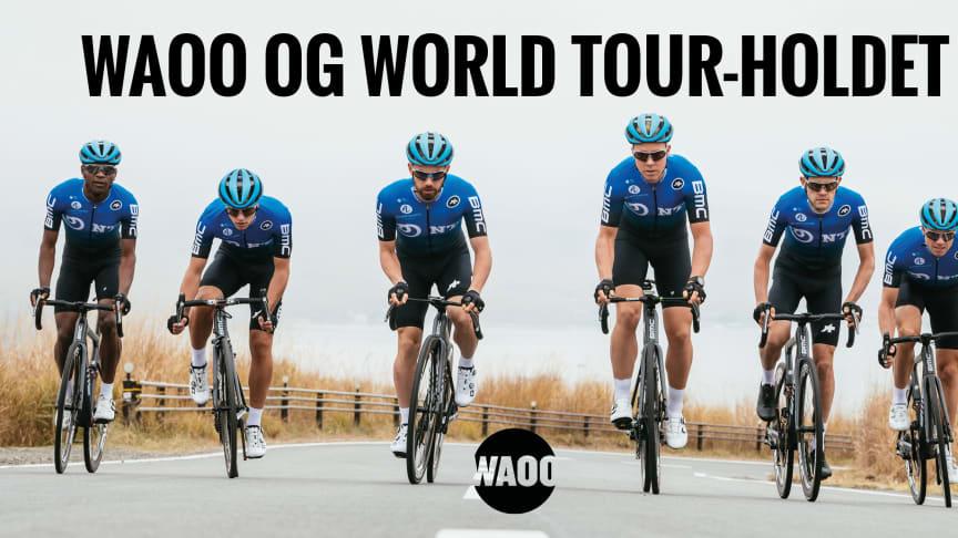 Waoo og Bjarne Riis fortsætter samarbejdet på World Tour-niveau