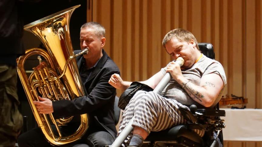 Bild från ett av ShareMusics tidigare labb. Foto: ShareMusic & Performing Arts