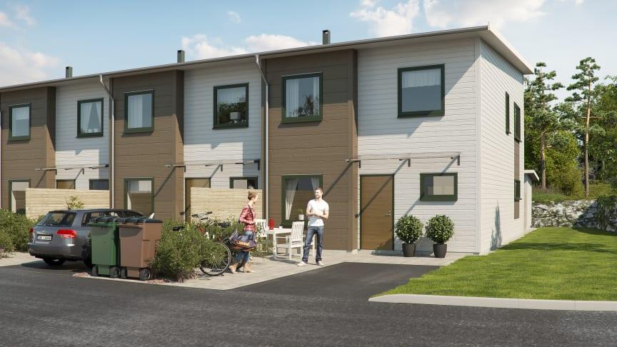 Stor efterfrågan på bostadsrätter i Gårdsten