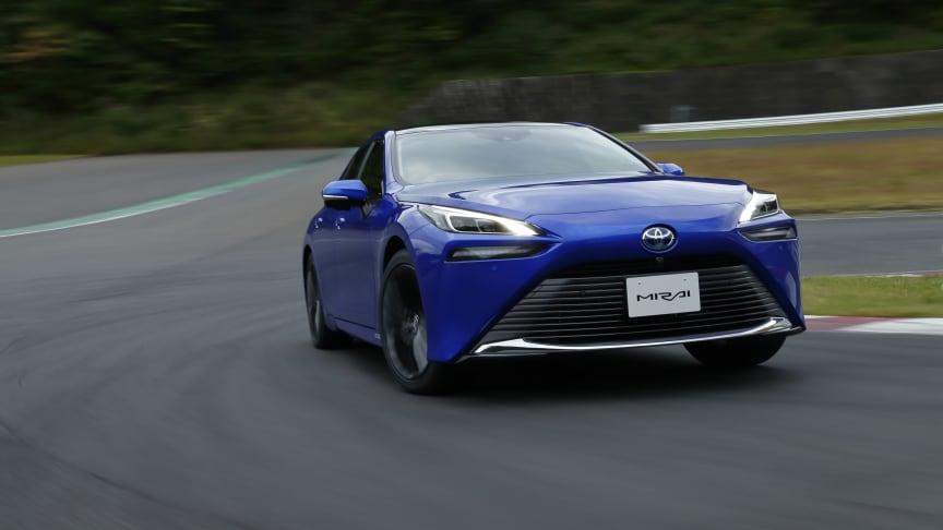 Vi introduserer nye Toyota Mirai