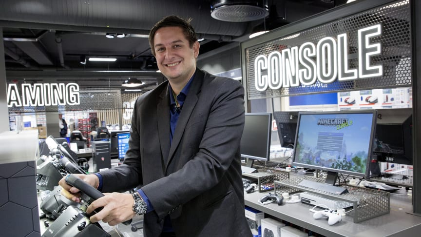 Fredrik Tønnesen, administrerende direktør i Elkjøp Norge. Foto: Elkjøp Norge