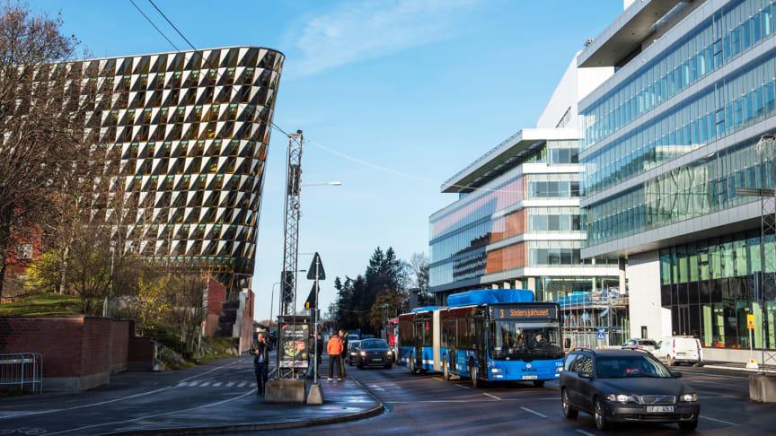 Rekordstort intresse för att etablera verksamhet på Campus Solna