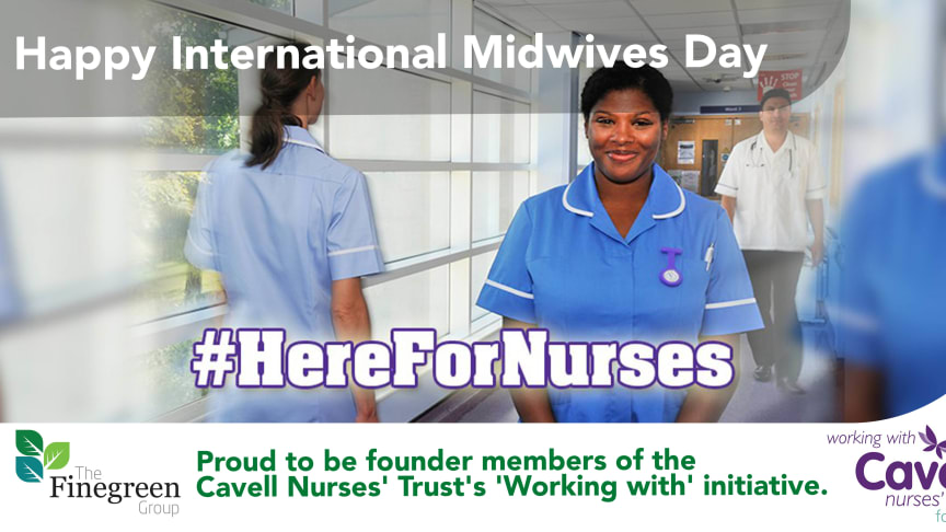 Happy International Midwives' Day from all at Finegreen!