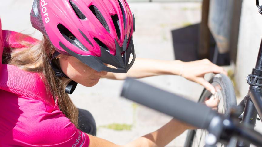 BikeFinder og foodora skaper trygghet for bud i matleveringsbransjen