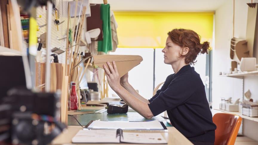 Lucy Kurrein in her studio.