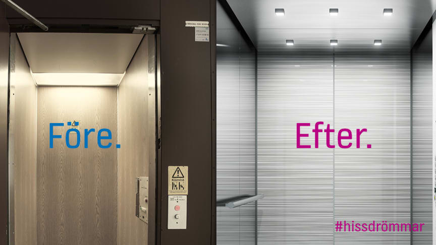 Vill du vinna en ny hiss till din bostadsrättsförening?