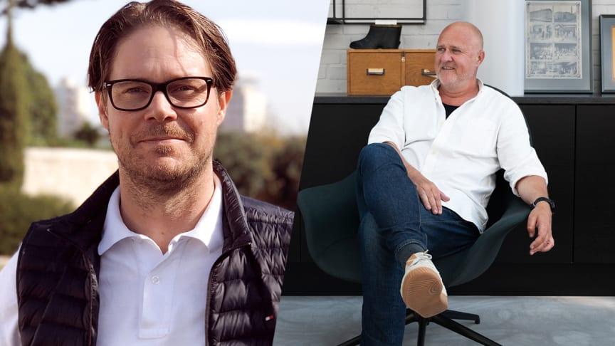 Fredrik Hedblom, CEO och Magnus Månsson, Styrelsemedlem