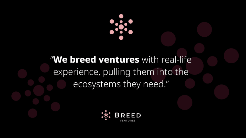 ​Breed Ventures co-creating business with startups and corporates