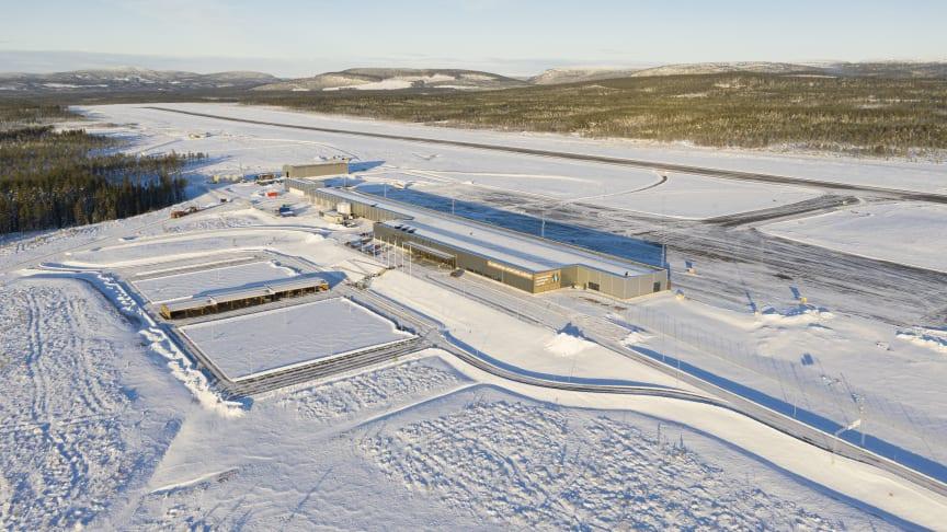 Scandinavian Mountains Airport öppnade i december 2019.