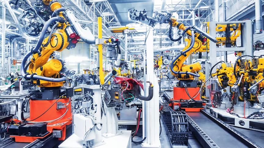 Industri- och logistikfastigheter väntas ha bäst utveckling 2020 enligt fastighetsinvesterarna i Cushman & Wakefields svenska Investor Survey index (Bild: Adobe Stock)