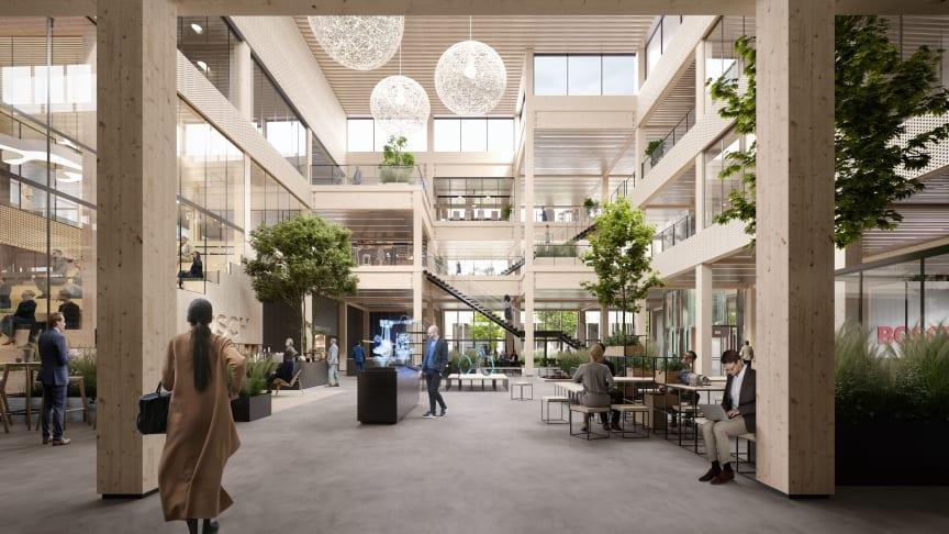 Boschs nye hovedkvarter vil blive opført i træ i de primære konstruktioner