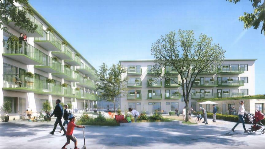Riksbyggen och Polstjärnan genomför hyresrättsaffär i Gustavsberg