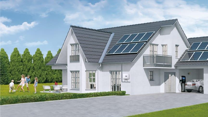 Huawei gör en ny storsatsning på teknik för solenergi i Sverige. (Foto: Huawei)