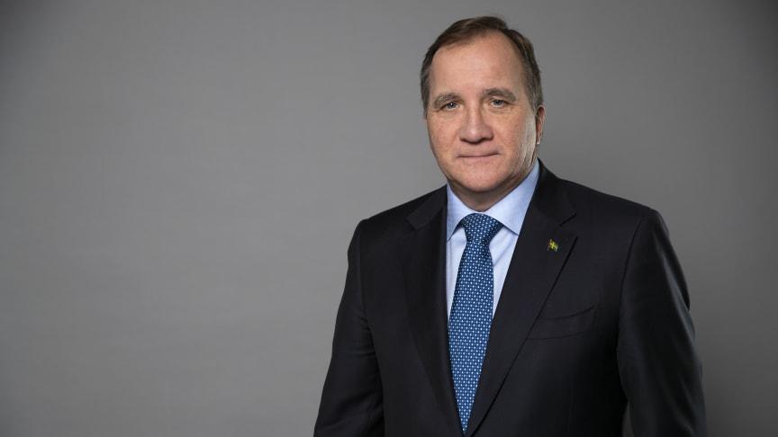 Statsminister Stefan Löfven. Foto: Kristian Pohl/Regeringskansliet