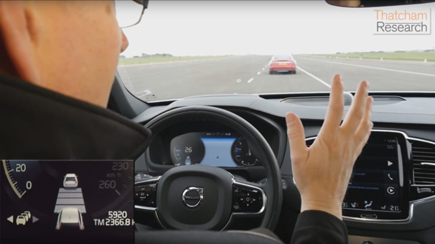 'Hands off' driving on motorways could soon be a reality