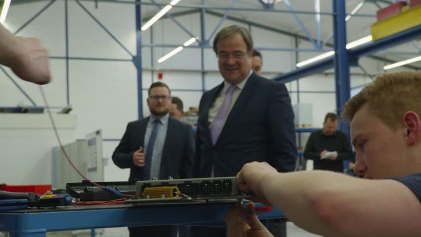 Ministerpräsident Armin Laschet besucht BPW in Wiehl