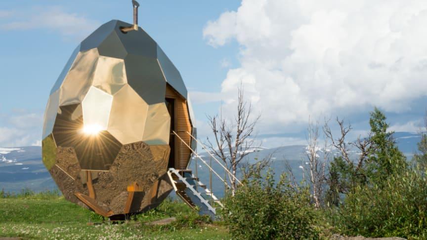 Solar Egg av Bigert & Bergström för Riksbyggen.