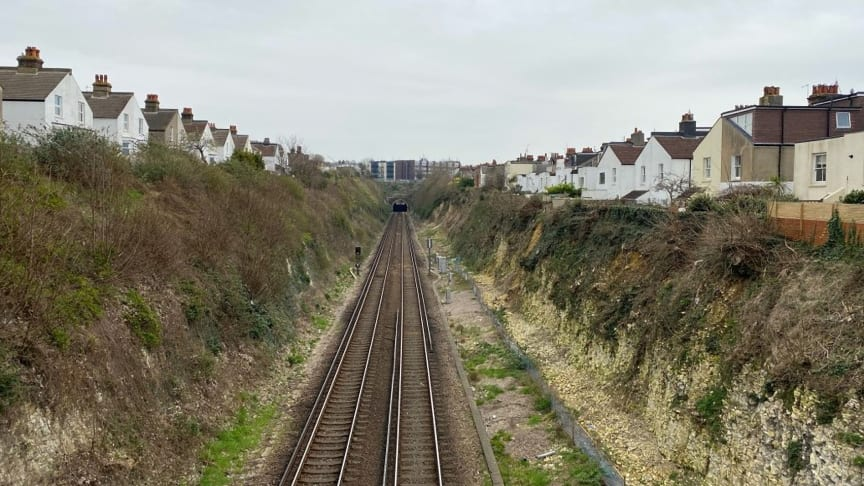 Network Rail will carry out stabilisation work along Hove cutting in September
