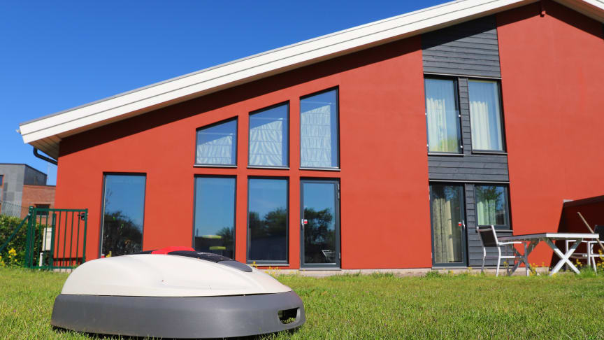 DIY - Mur en garasje til robotgressklipperen 1