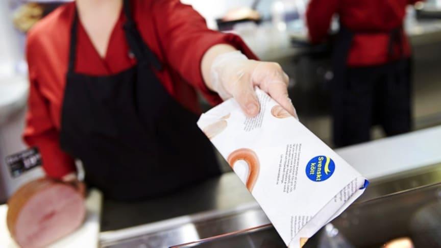 Kontroll av företag som använder märket Svenskt kött