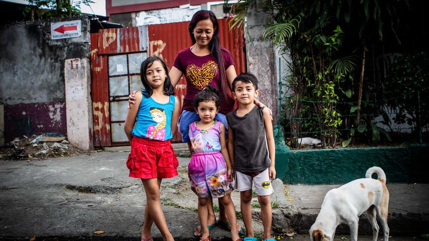 Bild från Filippinerna. Foto: Marcus Lundstedt, We Effect.