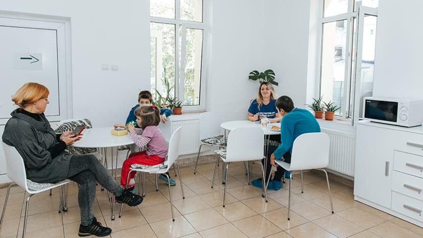 Centrul Micul Prinț din Bistrița a fost reamenajat complet în toamna anului 2018