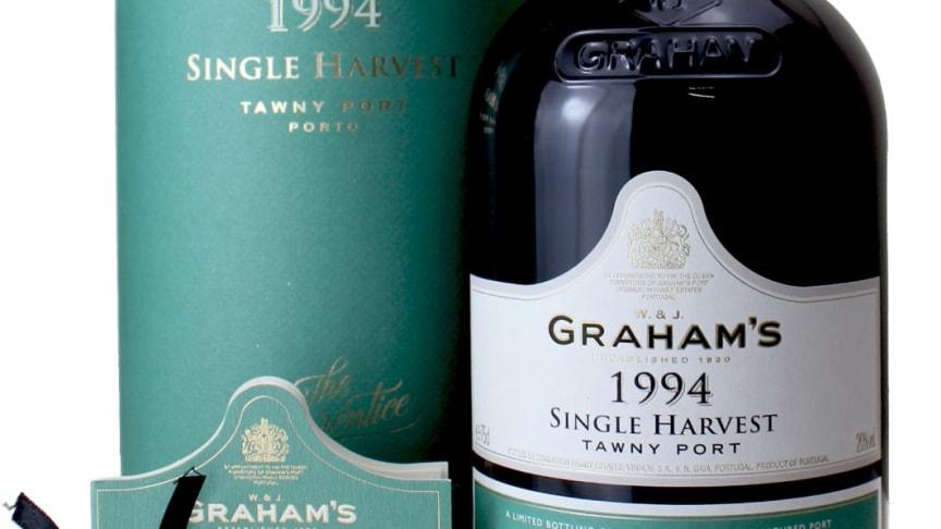 Tillfällig lansering - Graham's Tawny Singel Harvest 1994