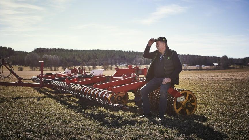 Jan Helin kan se tillbaka på 44 år av lantbruksarbete på gården i Härtsöga, strax utanför Karlstad.