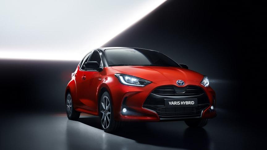 Nye Toyota Yaris: Nå er prisene klare. Foto: Toyota
