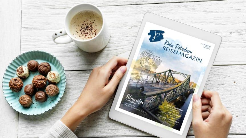 """Neue Inspiration für Potsdam-Liebhaber - """"Dein Potsdam-Reisemagazin"""" ist seit heute verfügbar"""