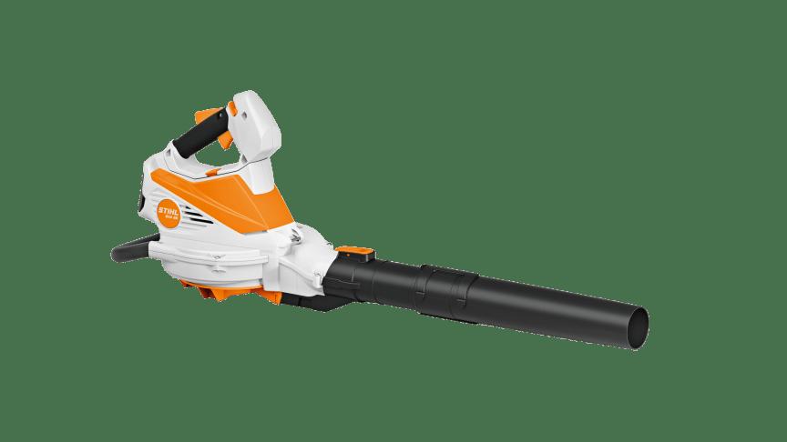 STIHL lanserar sin första batteridrivna lövsug med blåsfunktion