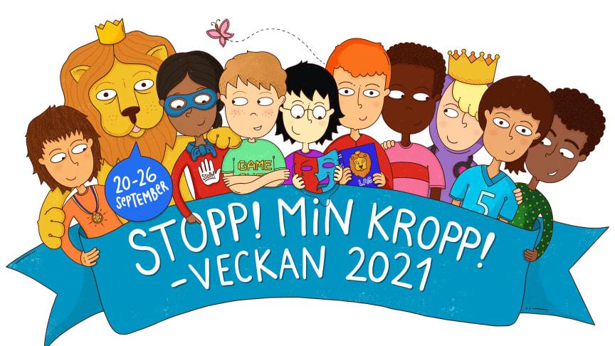 Nu inleds Stopp!Min kropp!-veckan, stort intresse från tusentals skolor runt om i landet