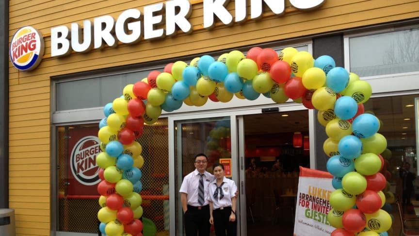 BURGER KING® åpner sin første restaurant i Hønefoss.
