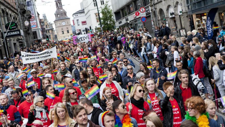 Årets tema for Oslo Pride: «Kjønn»