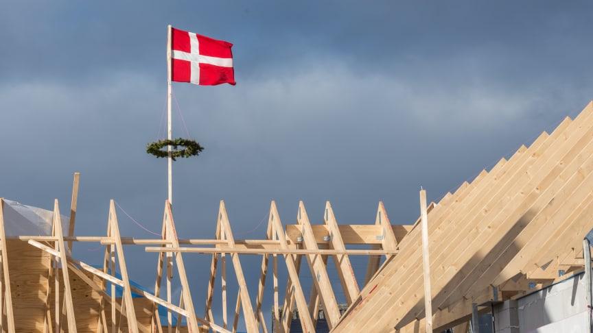 Siden første genåbning af Danmark er beskæftigelsen i byggebranchen steget med 6,7 pct.