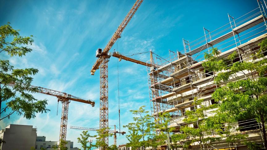 Nytt samarbete ska minska klimatpåverkan från byggandet