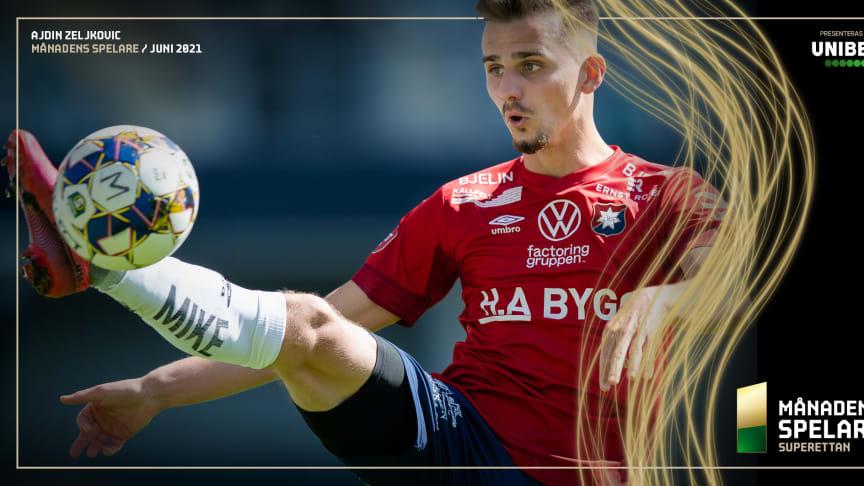 Ajdin Zeljkovic är Månadens spelare i Superettan