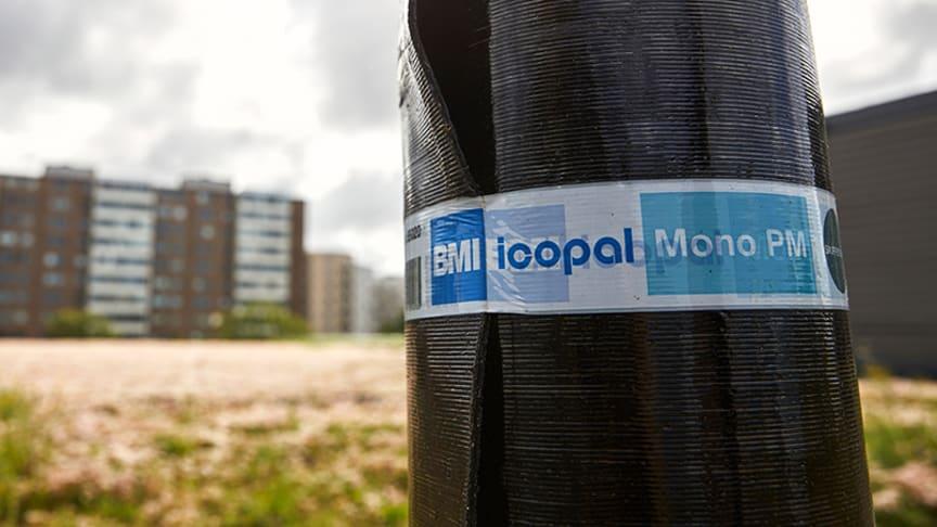 1-lags bitumentätskikt från Icopal - ett varumärke inom BMI Group.