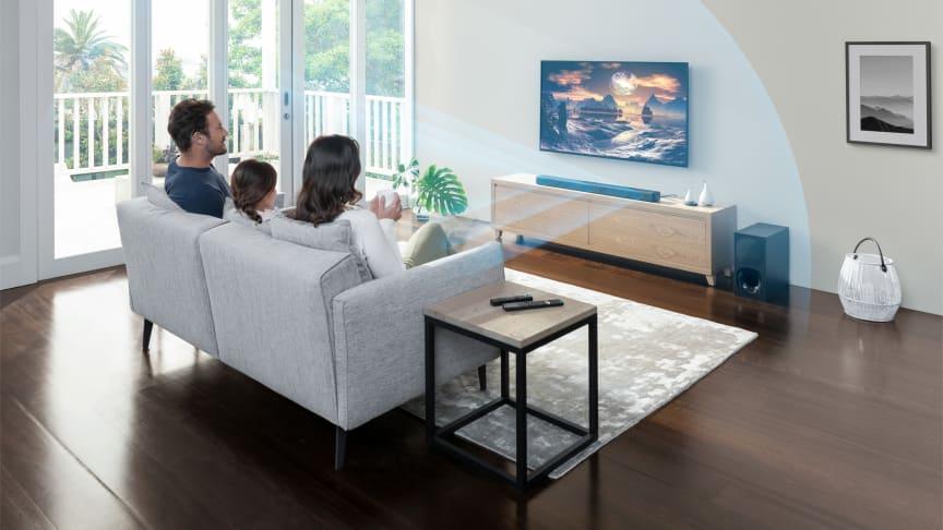 Sony udvider deres soundbar-serie med lanceringen af HT-G700 og HT-S20R