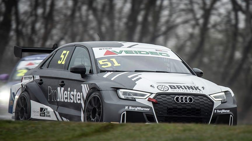 Brink Motorsport, STCC. Foto: Anders Helgesson