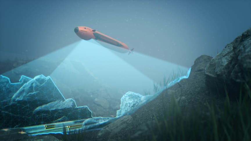 Kongsberg Maritime's new HUGIN Endurance AUV can map up to 1,100 square kilometres on a single mission