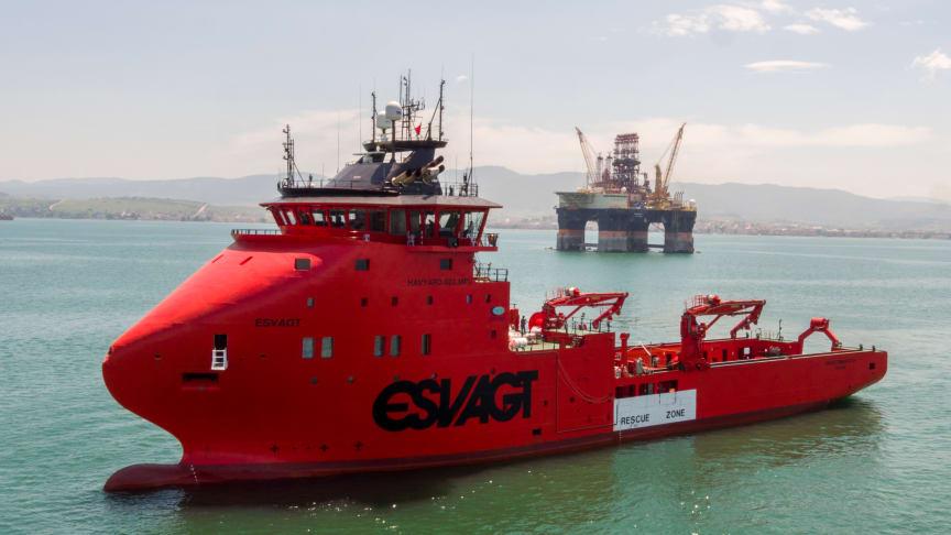ESVAGT TBN (H-053)  MPV (Multi Purpose Vessel), som skal servicere Hess' olie/gasproduktion i den danske del af Nordsøen.