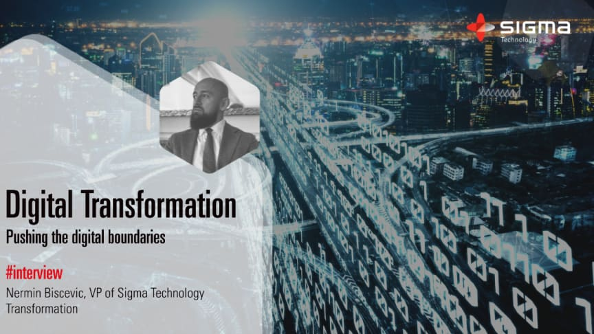 Digital transformation med Sigma Technology