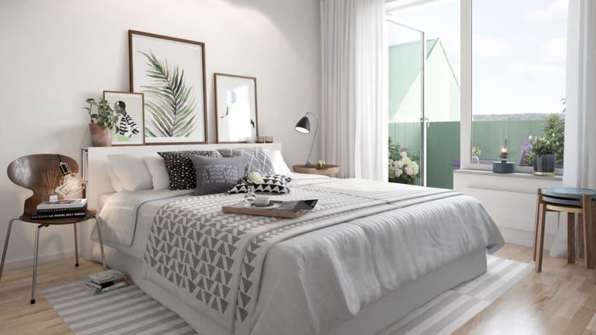 Säljstart av nybyggda lägenheter runt Tingstorget!