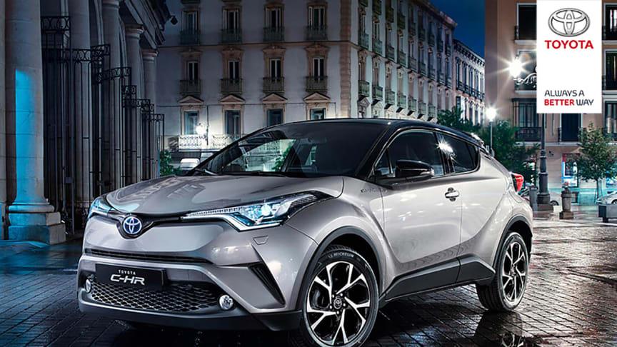Opplev nyheten Toyota C-HR på Rema 1000 Rock City, Namsos