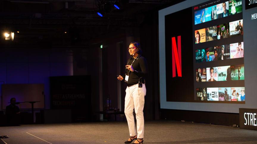 Megha Manohara från Streaming Tech Sweden 2018
