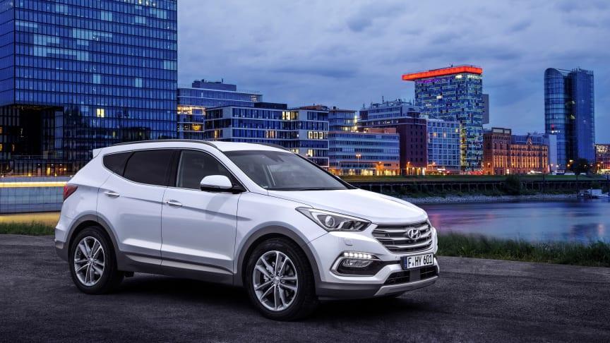 Hyundai på bilmessen i Frankfurt