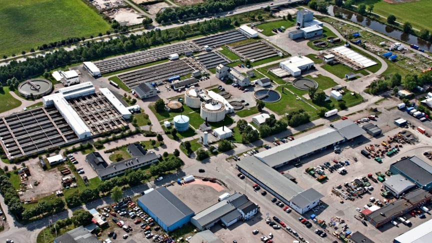 Kungsängsverket, Uppsala (Foto: Uppsala Vatten)