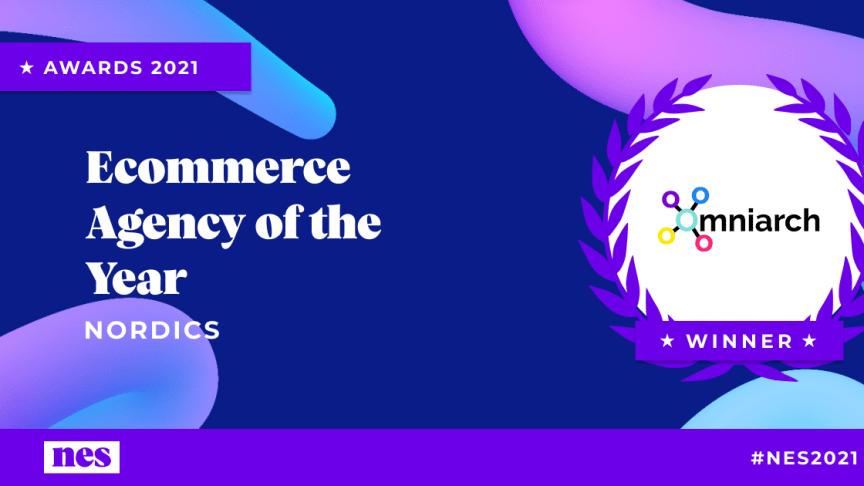 Svenska nytänkande byrån Omniarch tar hem priset som årets e-handelsbyrå i Norden före de traditionella konsultbolagen